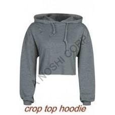 crop top hoodie  AN0530